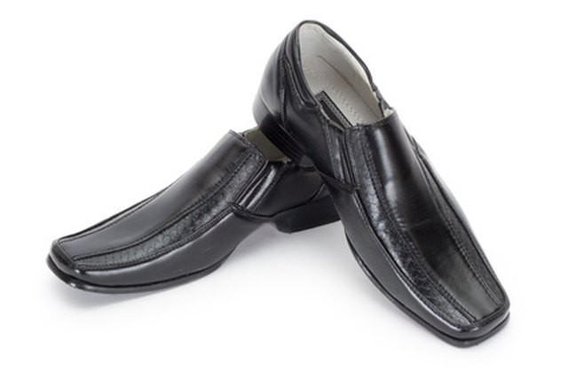 Loafers can be shrunk with water and heat.