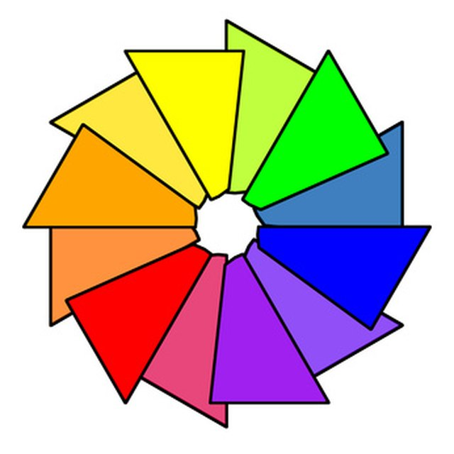 Color Wheel Matching Rules Ehow