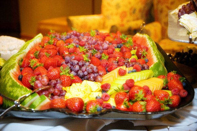 Baby Shower Fruit Tray Ideas Ehow
