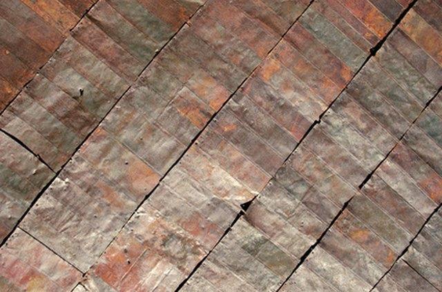 repair nail holes in metal roof