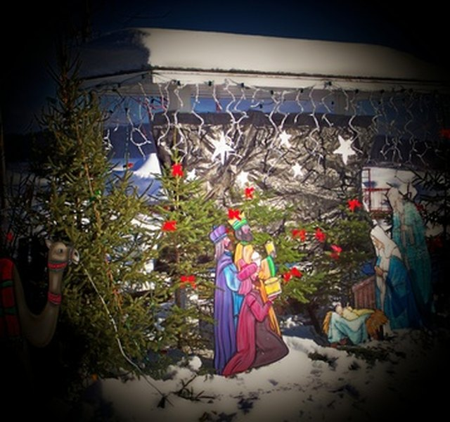 Christmas Float Ideas With Lights.Church Christmas Parade Float Ideas Ehow