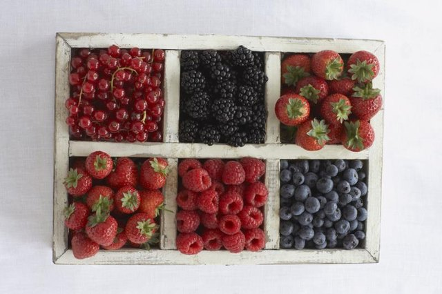 Want your daily dose of antioxidants? Pick a berry, any berry.
