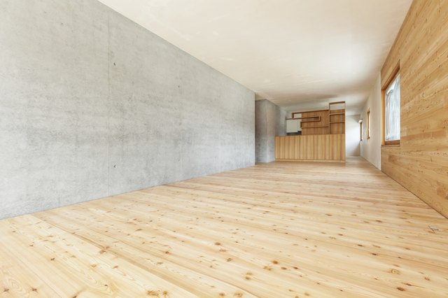 Moisture is the main issue when installing hardwood on concrete.
