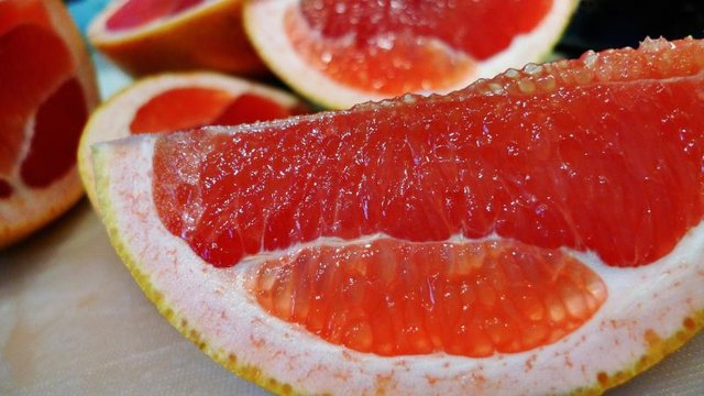 Citrus fruits, like grapefruit, supply tons of vitamin C.