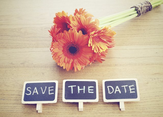 how to design your own save the date cards ehow