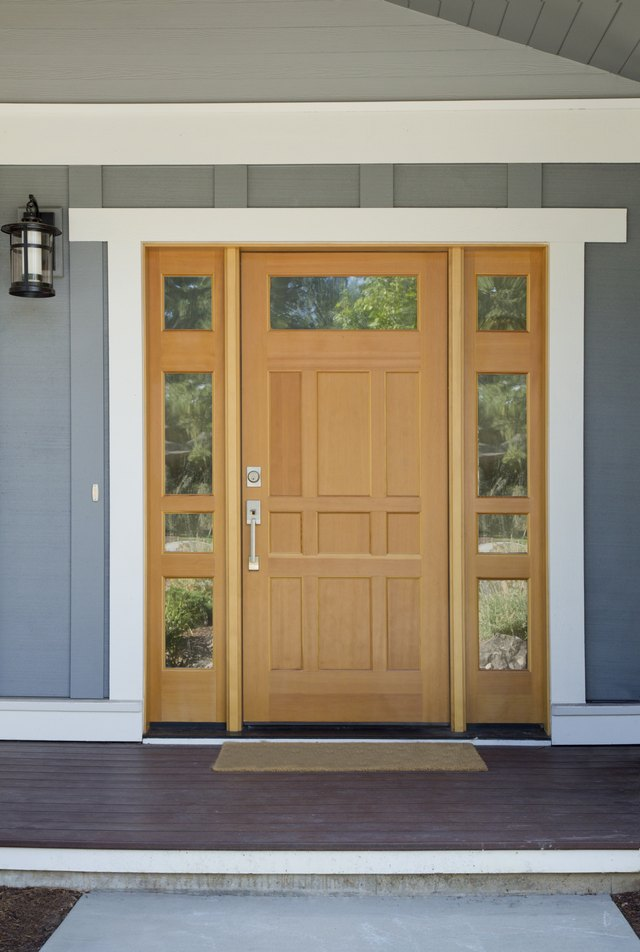 How To Replace An Exterior Door Threshold Ehow