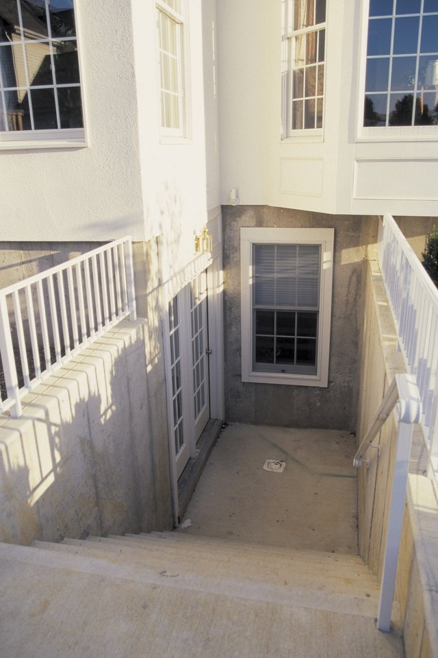 Before you can set your basement door in place you need to install a door & How to Frame a Walkout Basement Door | eHow