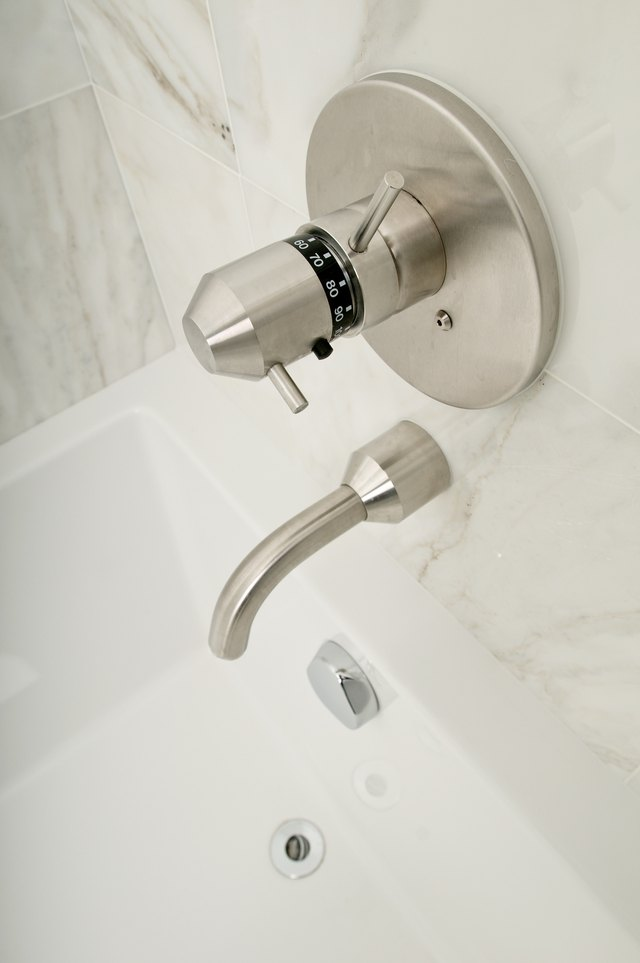 No Hot Water From A Tub Faucet Diverter Ehow