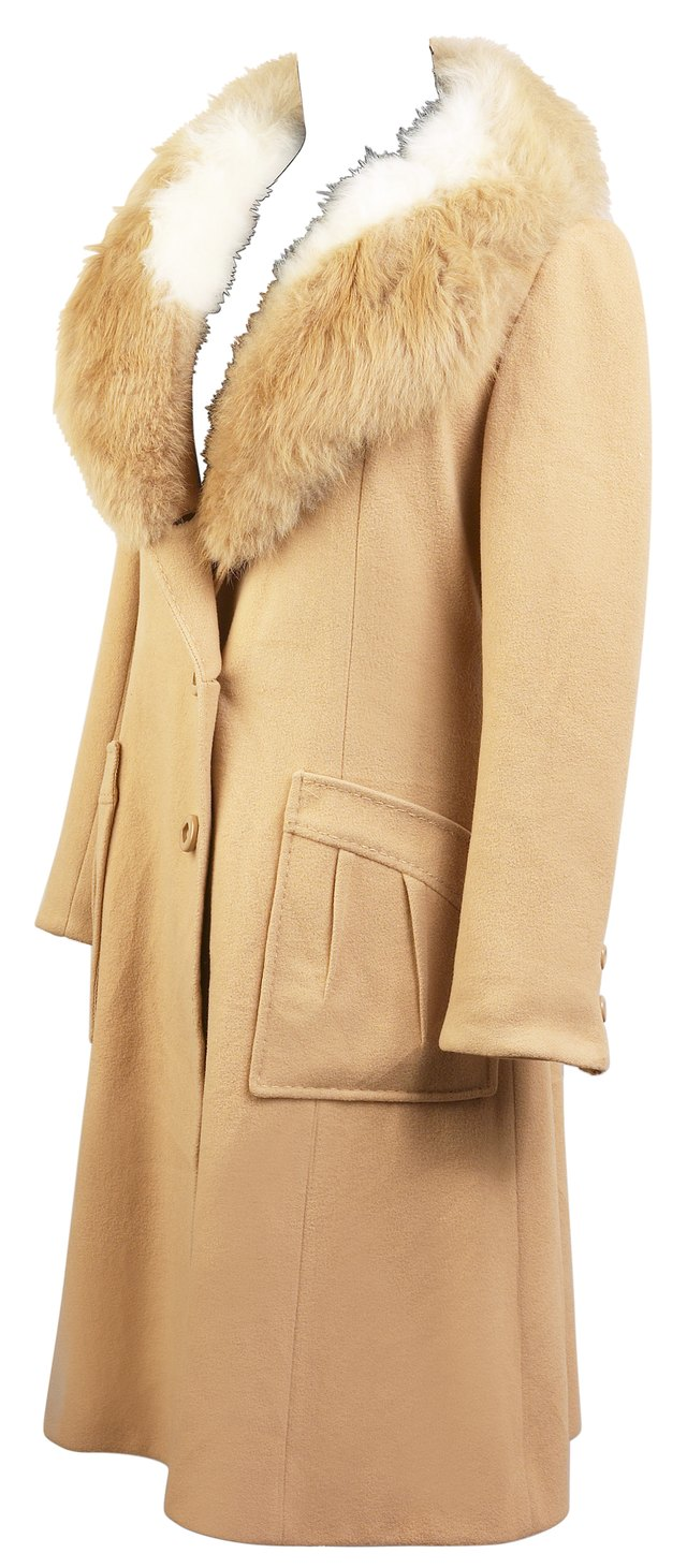 A suede jacket can smell musty if mildew or mold has grown on it.
