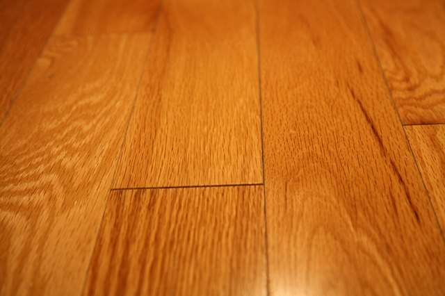 Amber Colored Flooring Complements Medium Maple Cabinetry Well