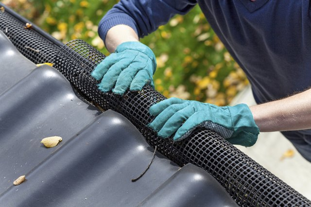 Cover your gutters to reduce maintenance.