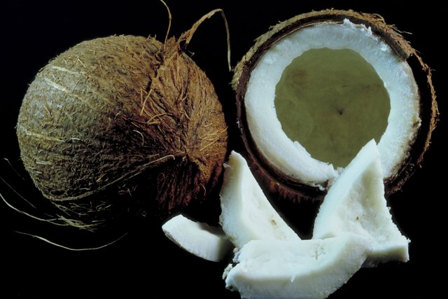 What Does It Mean if a Coconut Smells Like Alcohol? | eHow