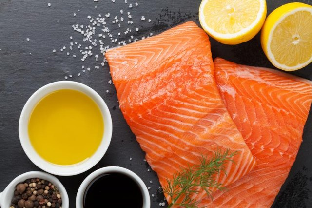 The polyunsaturated fats in salmon boost brain health and help lower inflammation, too.