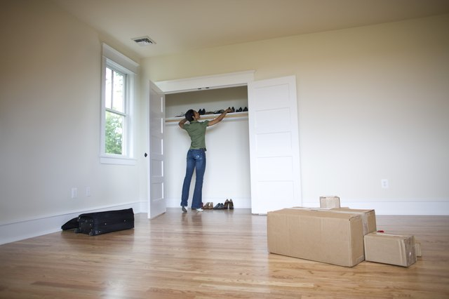 How To Get Paint Smell Out Of A Closet Ehow