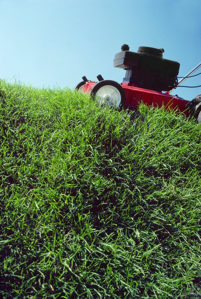 Which Way Do Mower Blades Go On? | eHow