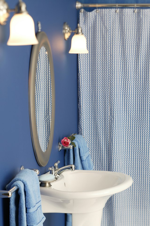Use Copper Tube To Make A Simple And Attractive Shower Curtain Rod