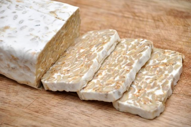Swap out tofu for tempeh to get more health probiotics.