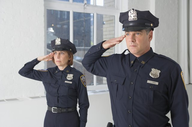 Police Hats Vary Slightly Depending On The Force