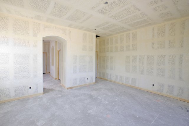 New Drywall Construction In A Room