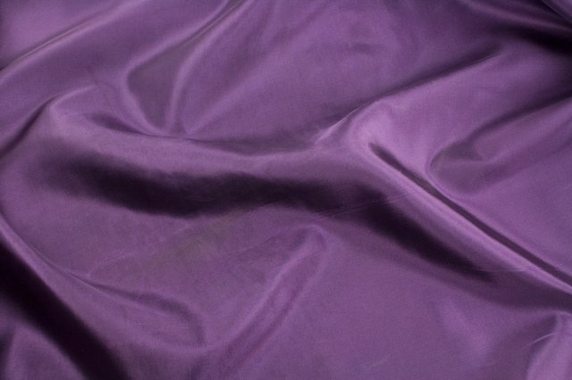 Take special care when cleaning taffeta.