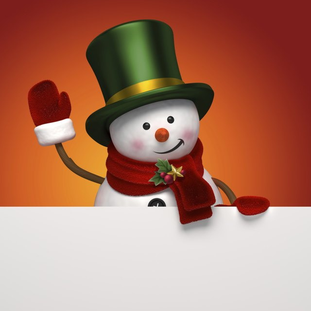 How To Make A Giant Stuffed Paper Snowman Ehow