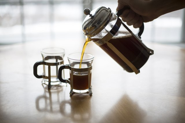 Avoid exposure to plastic by brewing in a French press.