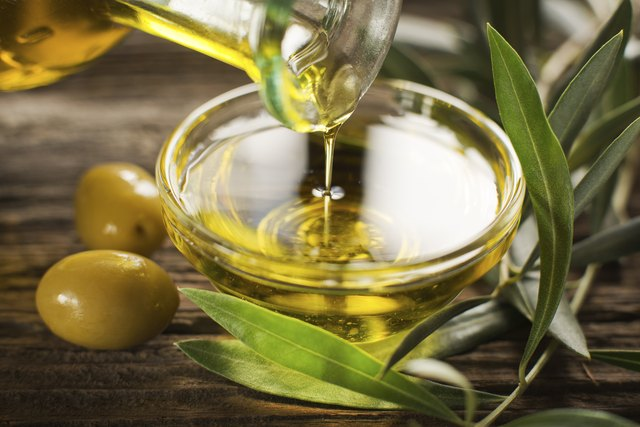 Treat olive oil stains right away for easiest stain removal.