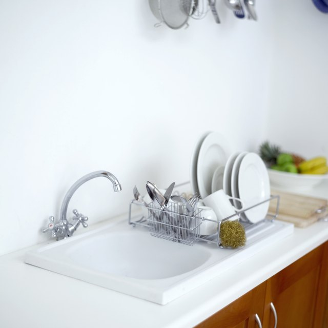 Pots Pans And Silverware Are Common Causes Of Aluminum Scratches In A Porcelain Sink