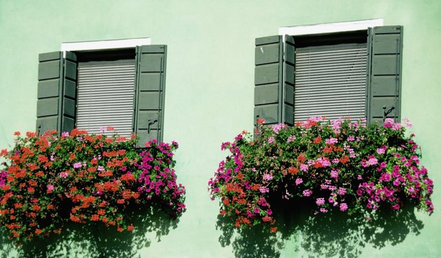 Artificial Flowers For A Window Box Ehow
