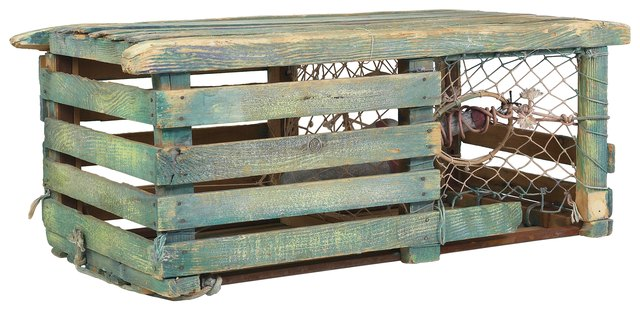 A Nice Square Lobster Trap Can Make Lovely Coffee Table With Bit Of Work