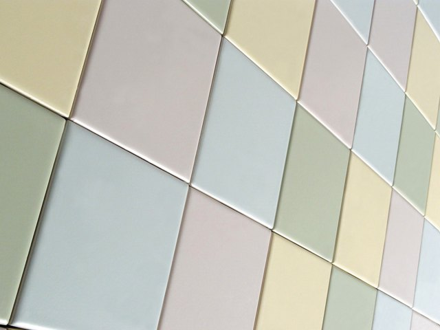 Glazed Ceramic Tile Can Be Hard To Paint