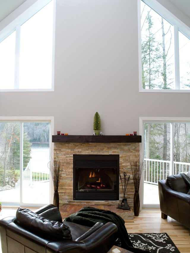 A Floating Mantel Typically Resembles Single Shelf Mounted On The Wall Above Fireplace