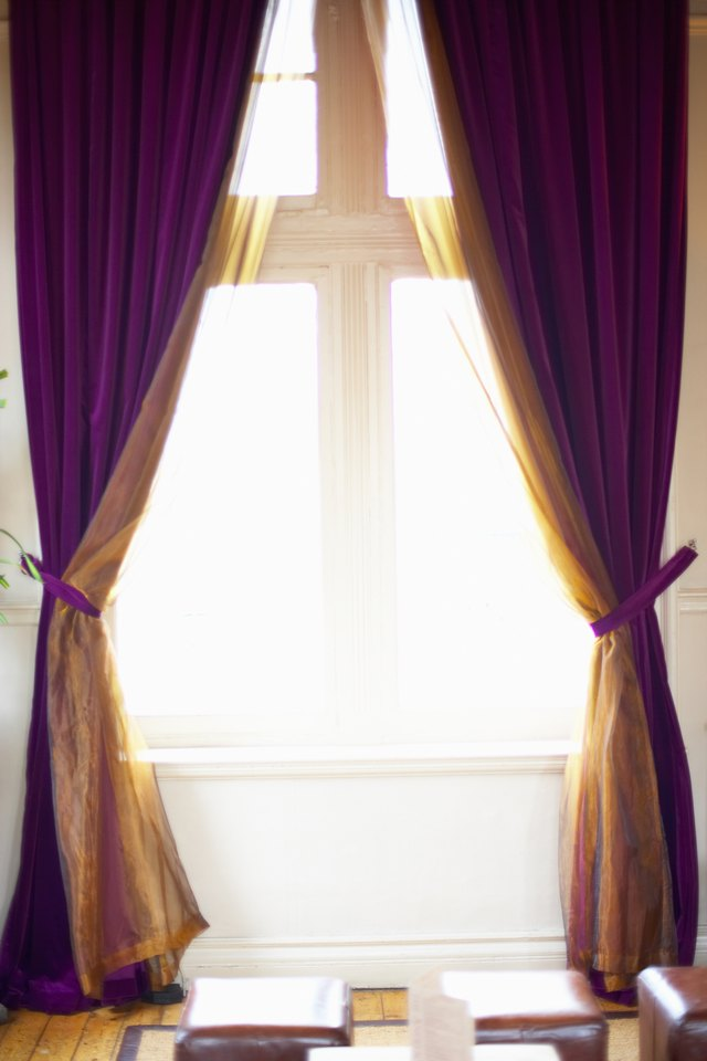 Living Room Curtain Ideas For Two Windows Side By Side Ehow