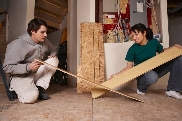 Subflooring Is Less Durable Than Finished Flooring