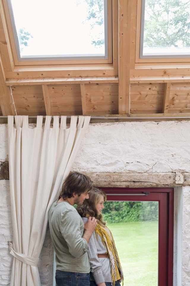 How Do I Hang A Curtain On A Velux Window Ehow