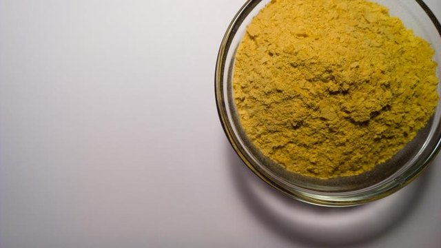 Tangy and cheesy, nutritional yeast is the best natural vegan source of vitamin B-12.