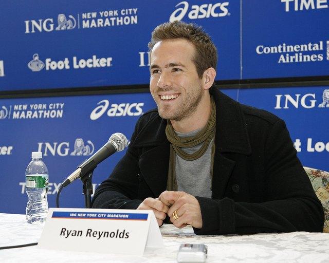 2008 ING New York City Marathon - Ryan Reynolds Press Conference