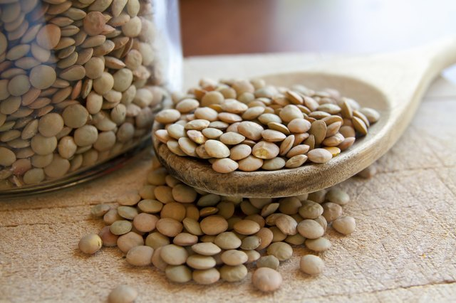Lentils legumes beans for muscle building diet