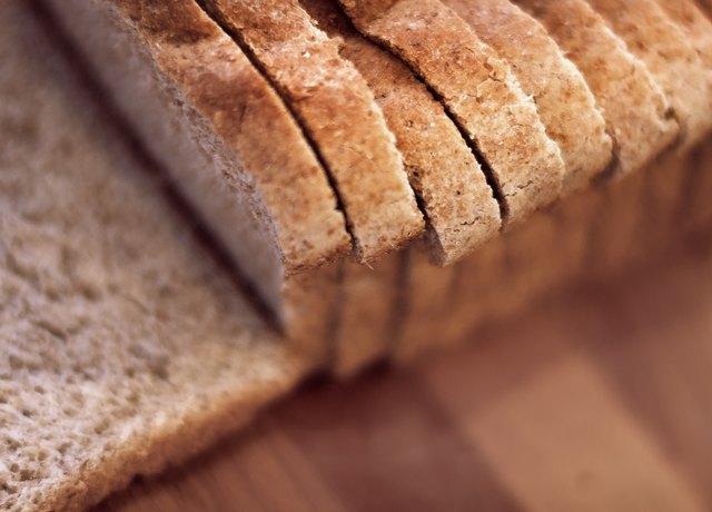 Sliced whole wheat bread