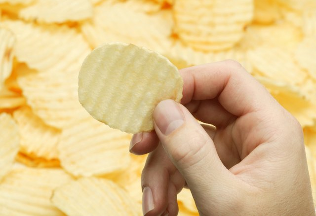 A potato chip