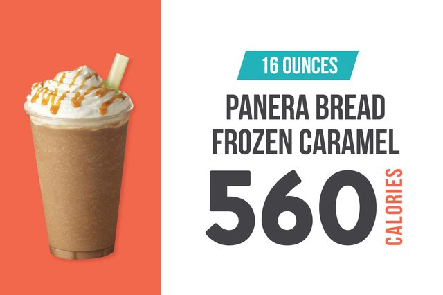 Panera Bread Frozen Caramel