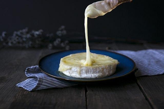 Warm Brie Cheese