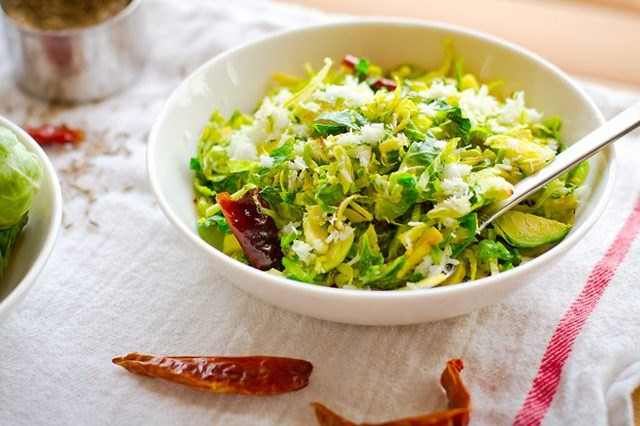 Brussels Sprouts with Coconut