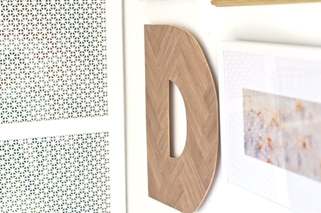 Hanging Wooden Letters
