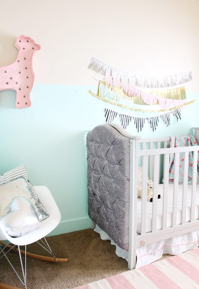Make a $1,500 Tufted Crib For $300
