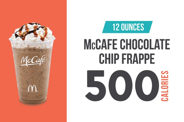 McCafe (McDonald's) Chocolate Chip Frappe