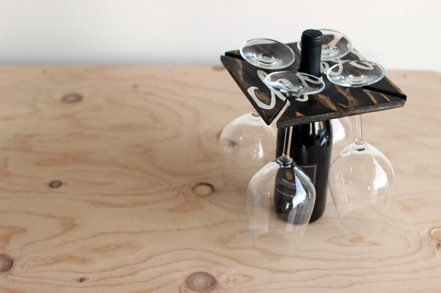 DIY Wine Glass Holder