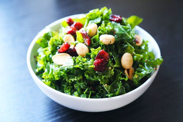 Kale, Dried Cherry and Marcona Almonds Salad...