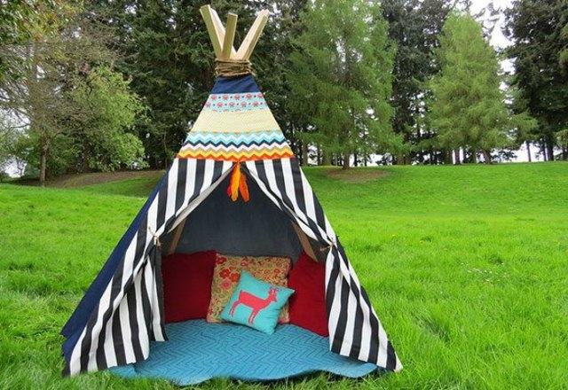 Build a teepee