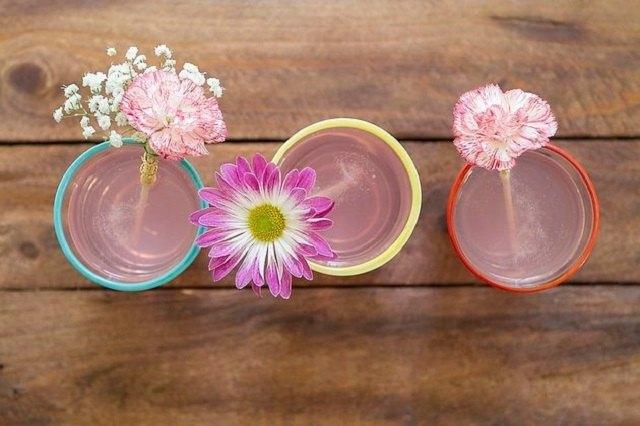 Floral Drink Stirrers